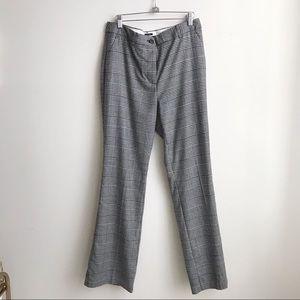 NWOT Talbots Houndstooth Plaid slack pants size 8